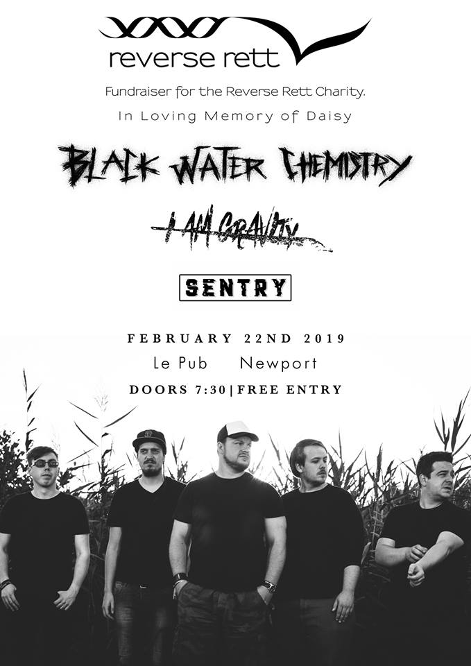 Black Water Chemistry Gig: 22nd February 2019