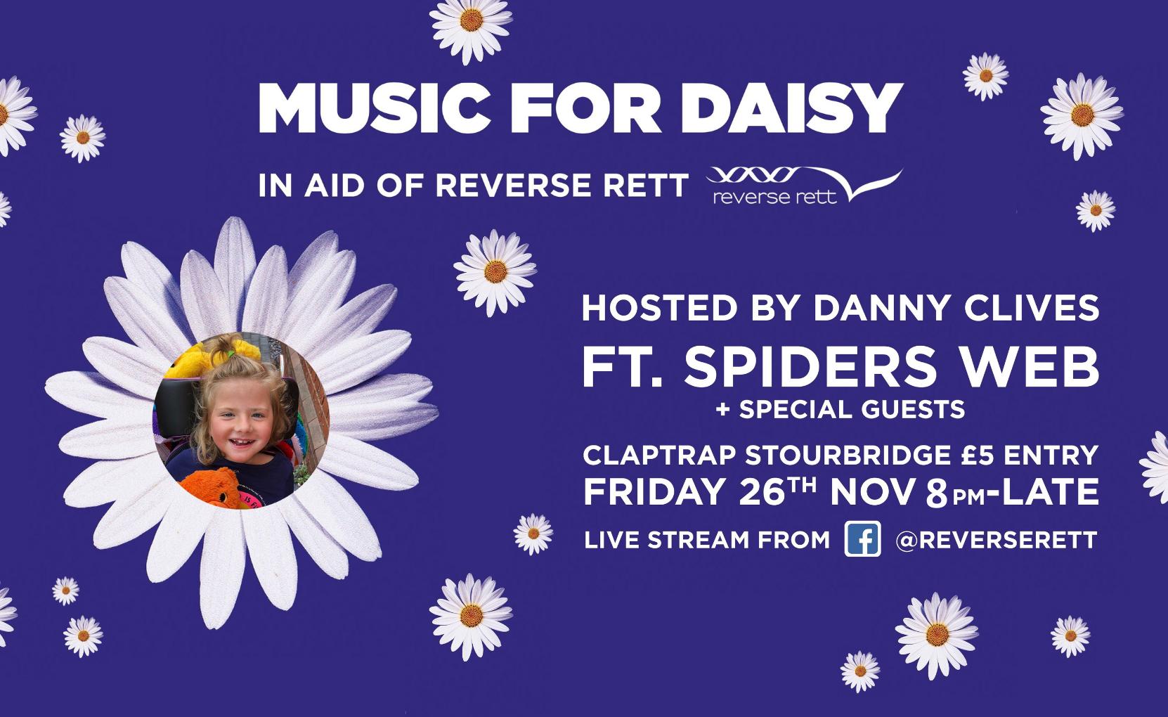 Music For Daisy Friday 26th November